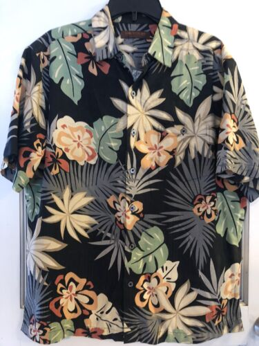 Tori Richards Hawaiian  Shirt Silk sz.M