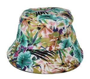 Kova Mens Bucket Hat Flower Pattern Outdoor Camping Floral Cap S M L ... 37b25576214