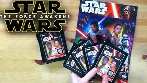 Topps-Star-Wars-The-Force-Awakens-Stickers-Part-1-amp-2-Build-Your-Bundle