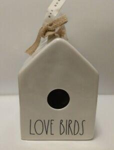 Rae Dunn Love Birds Birdhouse