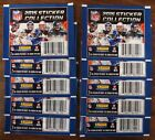 (10) 2015 PANINI  NFL STICKERS COLLECTION 10 PACKS WITH 7 STICKERS PER PACK NEW