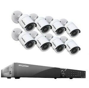 LaView-16-Channel-DVR-1TB-Security-System-amp-8-HD-1080P-Indoor-Outdoor-HD-Cameras
