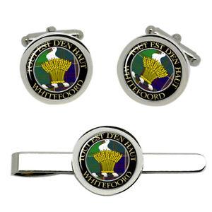 whitefoord-Scottish-Clan-Cufflinks-and-Tie-Clip-Set