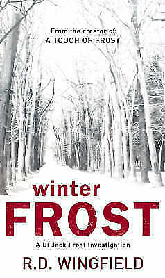 1 of 1 - Winter Frost. The New D.I. Jack Frost Novel., Wingfield, R. D., Very Good Book