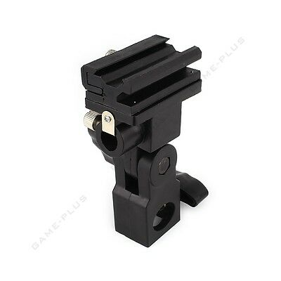 Flash Adapter Hot Shoe Swivel Light Stand Mount Umbrella Holder Bracket Type B