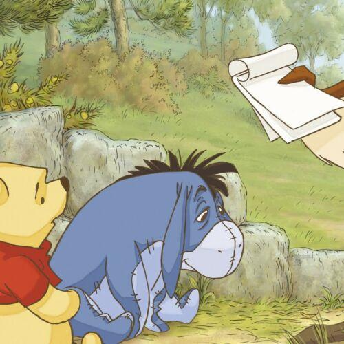 71.1x201cm Wandbild Disney Tapete Winnie the Pooh baby Schlafzimmer Riesenposter