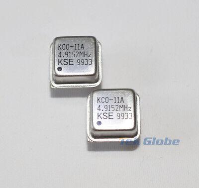 5pcs 4.9152MHz Oscillator DIL-8
