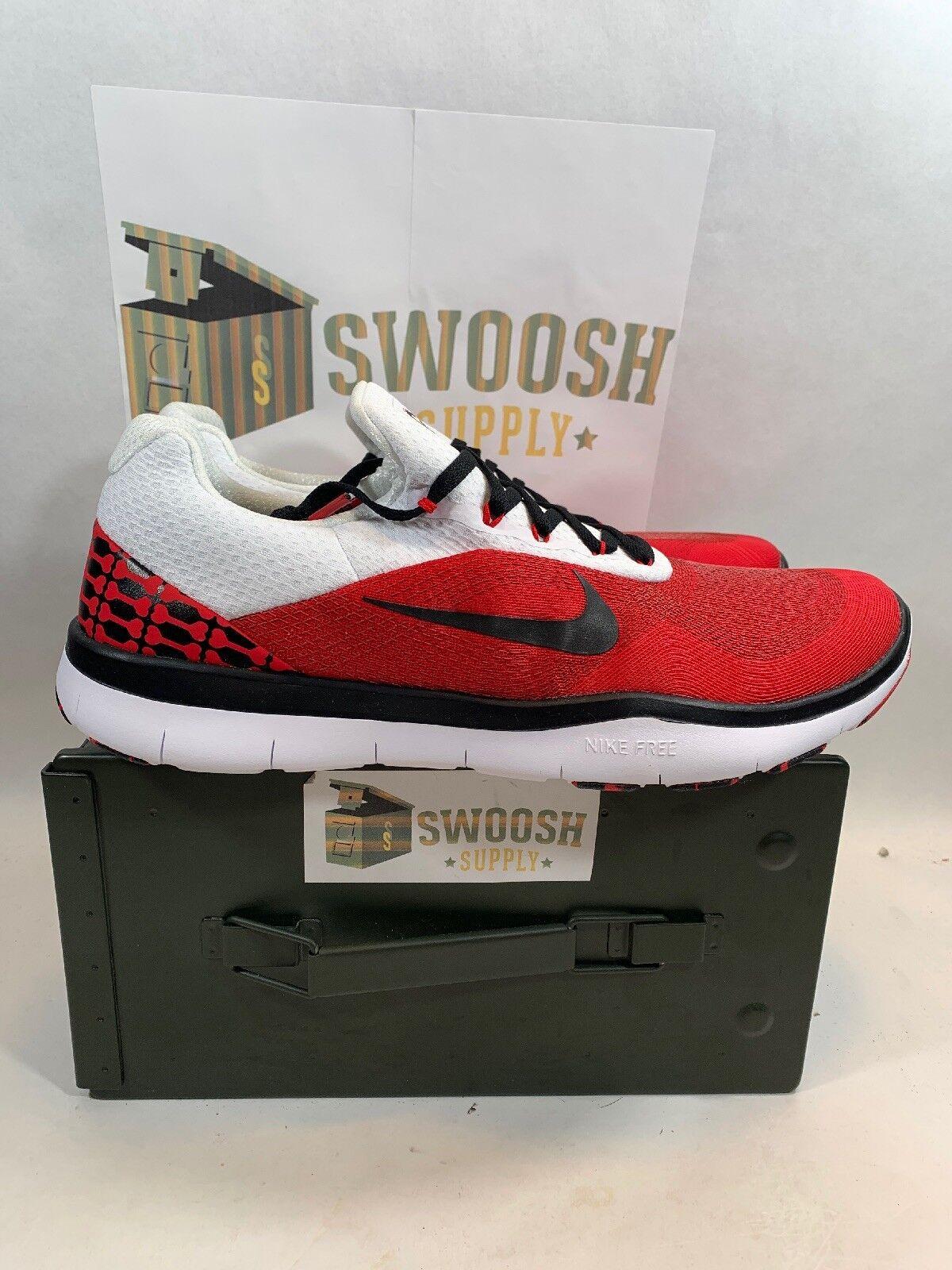 Nike Free Trainer V7 Week Zero Georgia Bulldogs Sizes 12 shoes AA0881-602