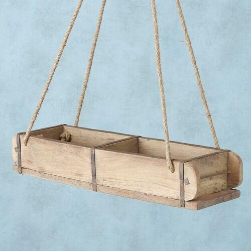 Große Box Rygge Ziegelform Retro Antik Shabby chic Aufbewahrungsbox zum hängen