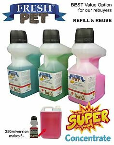 Fresh-Pet-SUPER-CONCENTRATE-250ml-Doser-Kennel-Cattery-Disinfectant-Deodoriser