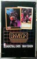 1990-91 Skybox Basketball Series 1 Factory Sealed Box 36 Packs 15 In Each