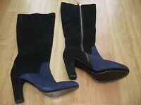 Boden Curved Heeled Boots Size ==size 41==7 Bnwob