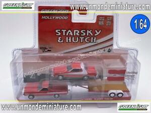 Starsky et Hutch 1976 FORD GRAN TORINO avec remorque 1:64 Greenlight 31080 A