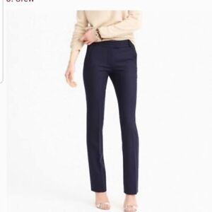 J. Crew Womens Black Wool Blend Campbell Trouser Dress J.Crew Pants Size 2