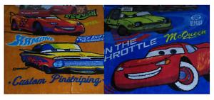 2 x Official Disney Cars Towel Cloth 30x30cm