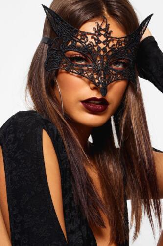 Bn Femmes Foxy vénitien masque de mascarade Halloween Party dentelle robe fantaisie NEUF