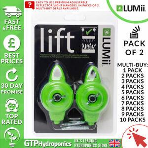 Lumii Lift Réglable Grow Light Cintres-pack De 2-x1-x10 - 5 Kg Corde à Grimper-afficher Le Titre D'origine 2019 Nouveau Style De Mode En Ligne