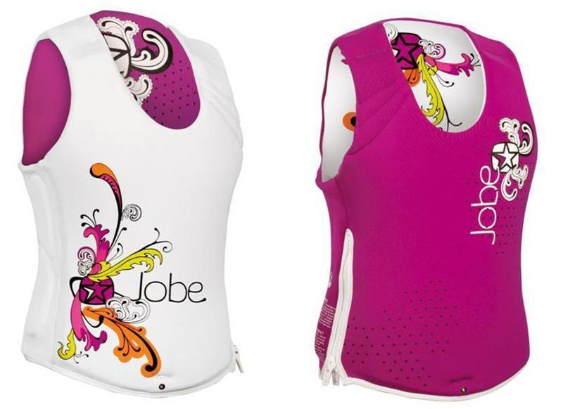 Jobe Reversible Venus Impact Shield 2011 Lady Swim Wakeboard Waterski Vest