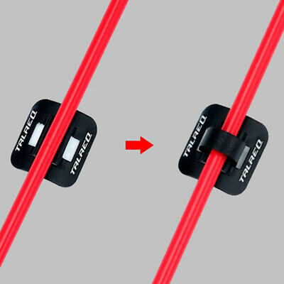 Clip Cable housing Grip 10pcs Line Pipe MTB Cord Wire Organizer Tube Buckle