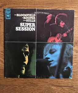 Super Session Bloomfield Kooper And Stills Vintage