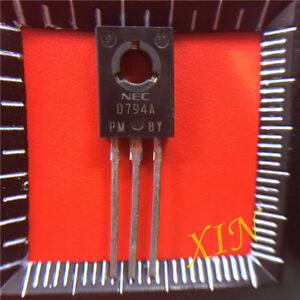 10PCS-2SD794A-Encapsulation-TO-126-NPN-SILICON-POWER-TRANSISTORS
