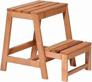 Trittleiter Holz klapptritt tritthocker klapphocker aus holz hocker klappbar
