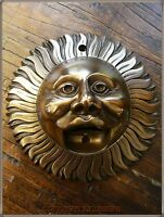 BEER BUDDIES, BRONZE FINISH SUN WALL MOUNTED BOTTLE OPENER, STUNNING!