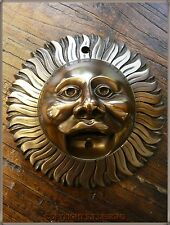 BEER BUDDIES, BRONZE FINISH SUN WALL MOUNTED BOTTLE OPENER, STUNNING! #048