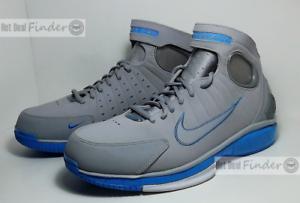 Nuove nike air zoom huarache 2k4 = dimensione = uomini scarpe da basket 308475-002