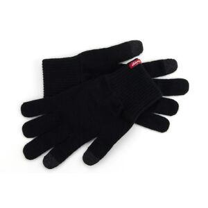 LEVI-039-S-NEW-Men-039-s-Touch-Screen-Gloves-Black-Ben-BNWT
