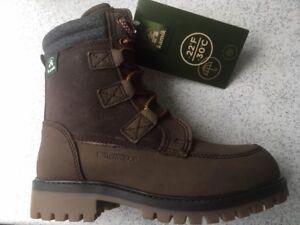 Details zu Kamik Stiefel Chelsea Boots Waterproof braun Gr. 31 neu mit Etikett