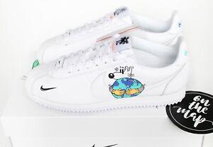 podar conversacion proteger  Nike Cortez Flyleather QS Earth Day 2019 White UK 5 7 8 9 10 US New | eBay