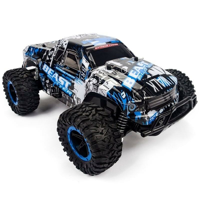 RC Car 1 16 High Double Motors Big Foot Radio Controlled Off Road Car Toys Gift