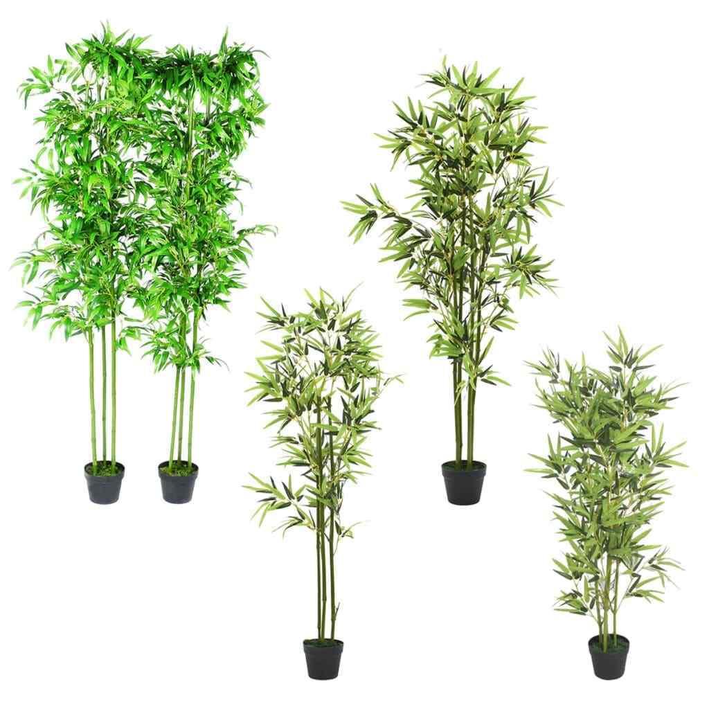 VidaXL Kunstbambus Künstliche Pflanze Kunstpflanze Kunstbaum mehrere Auswahl