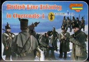STRELETS-1-72-Napoleonic-British-Linea-Infanteria-en-overcoats-1-M094