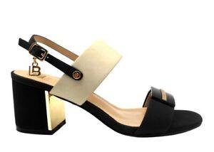 Sandali scarpe da donna Laura Biagiotti 6153 casual con tacco basso alla moda