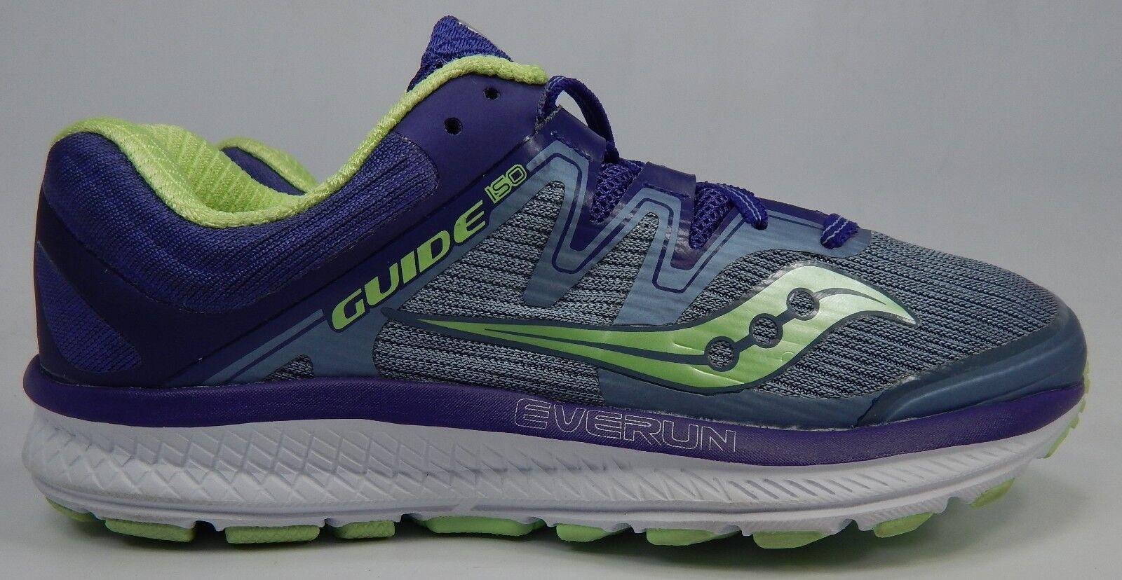 Saucony Guide ISO Tamaño Tamaño Tamaño  7.5 M (B) de la UE  38.5 Para Mujer Zapatos Para Correr Púrpura S10415-1  genuina alta calidad