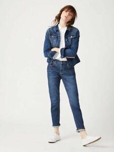 White-Stuff-Mujeres-Damas-Azul-novio-Stretch-Jeans-Denim-10-12-14-16-18-20-22