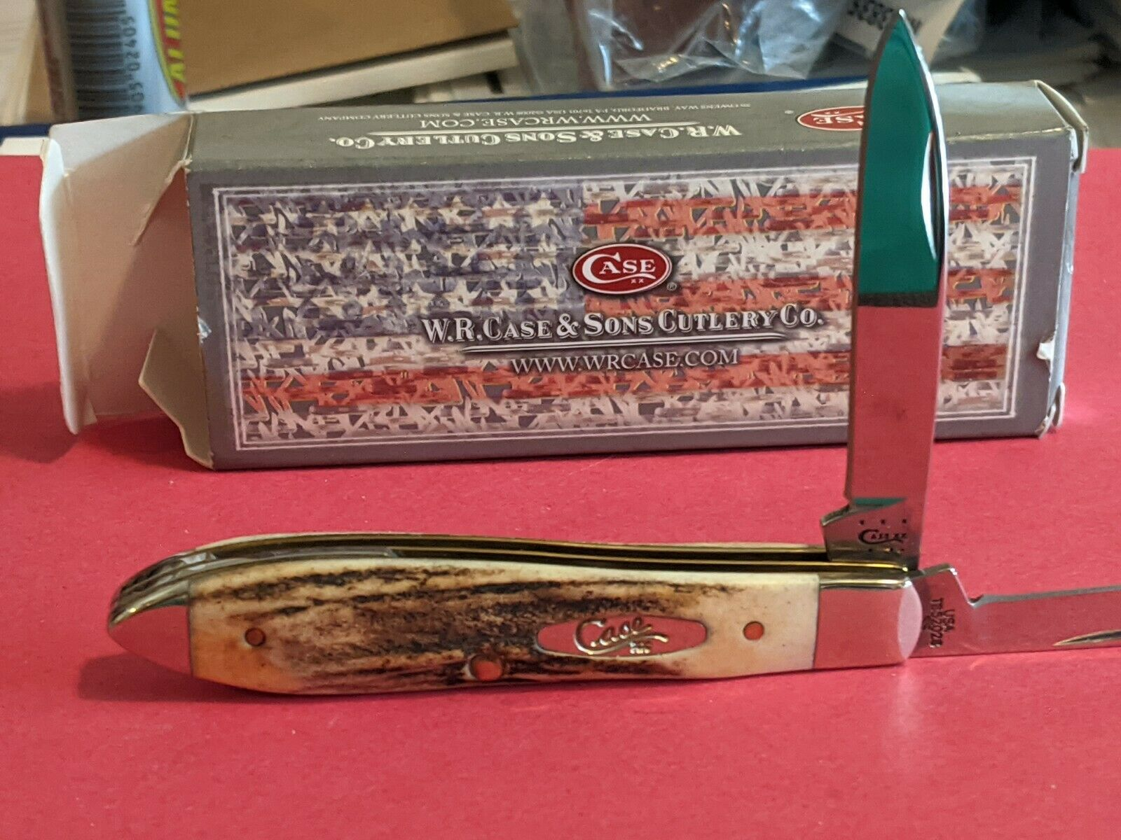 Case Stag Tony Bose Teardrop Jack Knife TB 52028SS mint condition unused