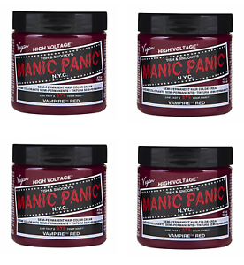 Manic-Panic-High-Voltage-Vampire-Red-Classic-Hair-Color-118ml-x4