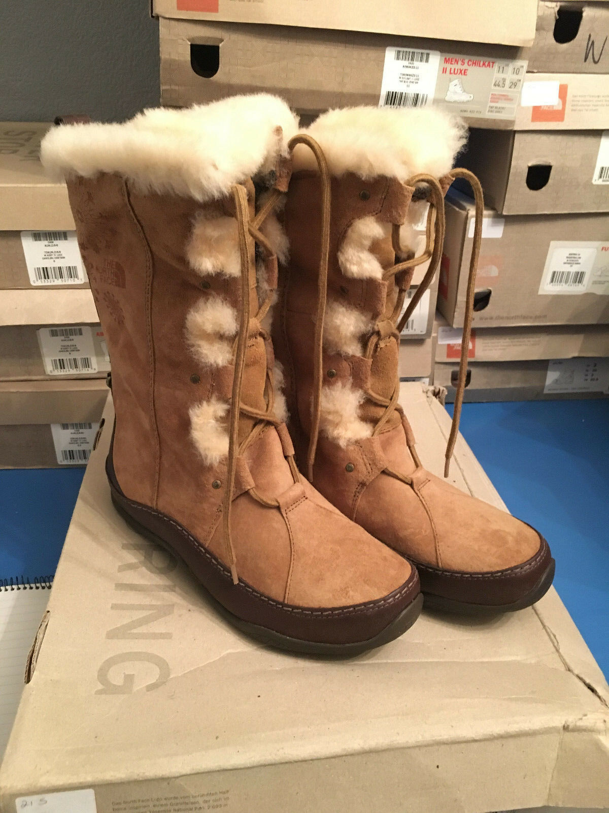 The North III Face, Abby III North Boot, Rope Brown, Sizes 4.5,7,7.5, New in Box 336749