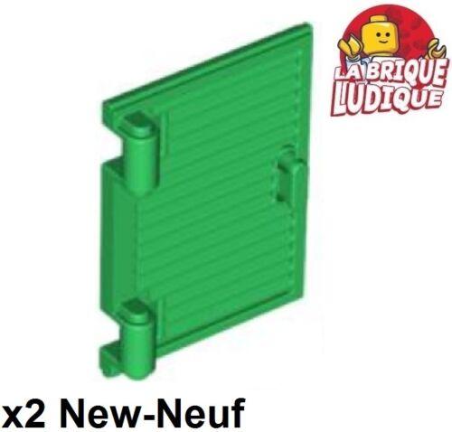 Lego Baukästen & Konstruktion 2x window Fenster Klappe Auslöser Griff Scharnier grün/grün 60800a neu