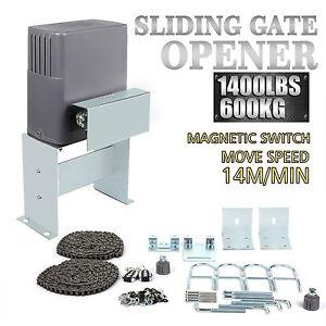 Motorisation Pour Portail Coulissant 600kg Sliding Gate Opener