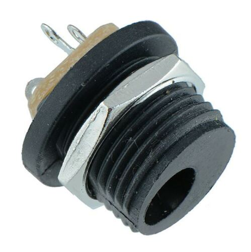 2.1mm or 2.5mm x 5.5mm Panel Mount Chassis DC Socket Power Connector