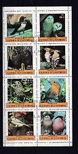 Guinea Ecuatorial 1977 - Vogels/Birds/Vögel