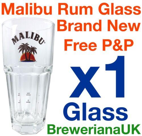 Single Malibu 37cl Glass Brand New 100/% Genuine Official 2+4cl Measure Lines
