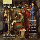 Poetry in Music von Christophers,The Sixteen (2015)
