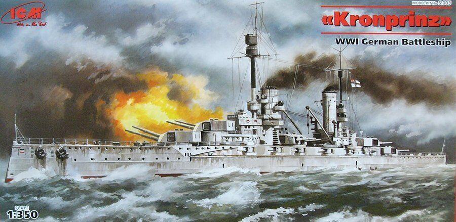 ICM 1 350 Kronprinz WWI German Battleship S003