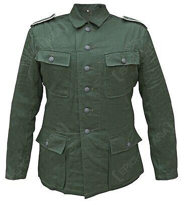 WW2 German Army M43 Reed Green HBT DRILL TUNIC Combat Jacket Uniform - All Sizes