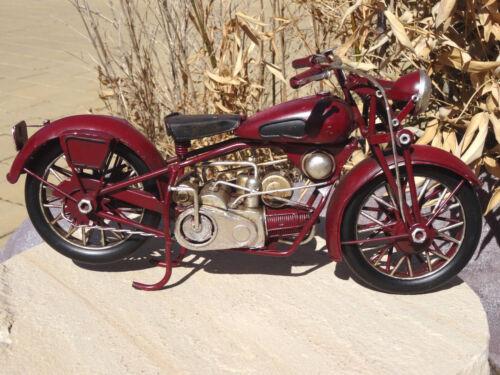 Motorrad Modellfahrzeug BMW AWO DKW NSU RT TS ES Kult Retro Metall Biker Deko